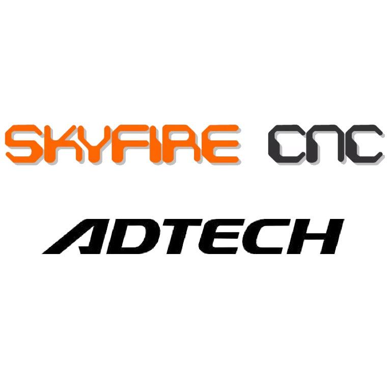 Skyfire CNC with Adtech Control Logo