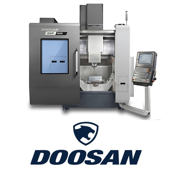 Doosan 5AX and DVF with Fanuc Control Logo