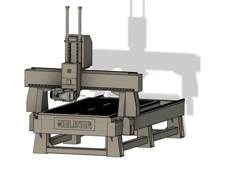Heliner 4-axis Router Logo